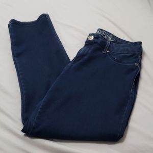 Express Jeans Mid Rise Straight Leg Pants Jegging